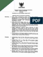 6 KMK No. 129 ttg Standar Pelayanan Minimal RS.pdf