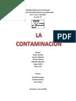 Proyecto de La Contaminacion Final