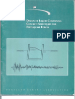 31488440 Design of Liquid Cont a Inning Concrete Structures for Earthquake