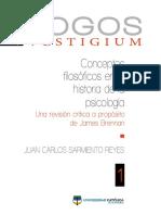 2016 Conceptos-filosoficos-en-la-historia-de-la-psicologia. Una revision critica de Brennan