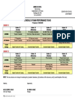 Schedule - Main Pt 1st Sem