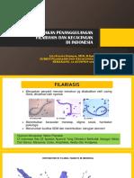 Kebijakan Penanggulangan Filariasis Dan Kecacingan