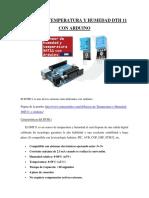 Sensor de Temperatura y Humedad Dth 11 Con Arduino