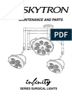 Skytron Infinity Surgical Light - Service Manual
