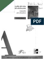 06 SEP (2001). Desarrollo del niño y de la docente, compendio para educadores, México..pdf