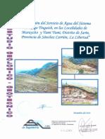 Estudio Geologico y Geotecnico