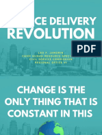 Service Delivery Revolution