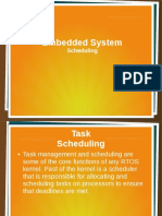 Embedded System (Scheduling)