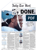 The Daily Tar Heel for October 12, 2010