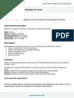 Perfil Cliente Ideal (SEGUN TU CRITERIO)- Etapa 1