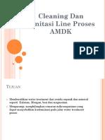 Cleaning Dan Sanitasi Line Proses AMDK