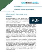 Chardon - Legitimar Las Practicas Del Psicologo en La Escuela O Construirlas Criticamente