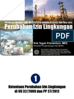 Permenlhk NO P 23- 2018 Perubahan Izin Lingkungan di luar OSS- FAI 12 sept 2018.pdf