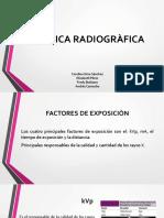 Tècnica Radiogràfica