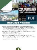 PP No 24 Tahun 2018 Terkait Izin Lingkungan, Amdal & UKL-UPL melalui Sistem OSS