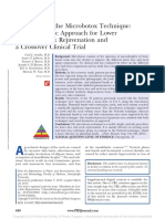 Evaluation of the Microbotox Technique an.12