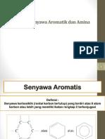 Diskoneksi Senyawa Aromatik Dan Amina