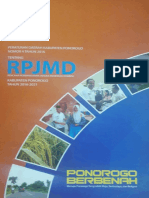 RPJMD Kabupaten Ponorogo Tahun 2017
