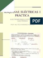 Máquinas Eléctricas I - Práctica