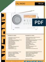 Dr PR-D4 Leaflet