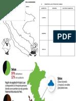 Ficha de Trabajo de Historia - Los Climas del Peru.docx