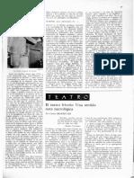 """Carlos Monsiváis, """"El teatro frívolo. Una sentida nota necrológica"""""""