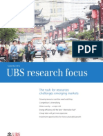 UBS Research Rush for Resources