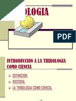 Tribologia como ciencia