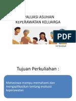 Evaluasi Asuhan Keperawatan Keluarga