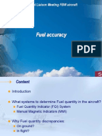 Airbus Fuel Accuracy