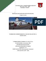 Unidad Educativa- Informe