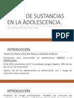 Abuso de Sustancias en La Adolescencia
