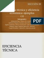Eficiencia Técnica y Eficiencia Económica-1