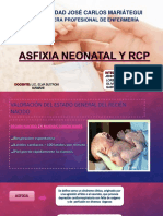 Asfixia Neonatal y Rcp