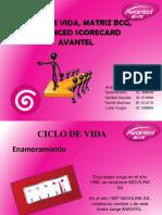 Ciclo de Vida, Matriz Bcg, Balanced Scorecard_avantel