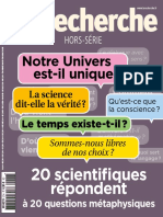 La Recherche Hors-Serie - Octobre-Novembre 2018
