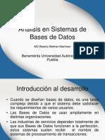 Analisis de Bases de Datos