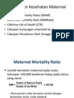 5 Indikator Kesehatan Maternal