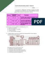 Evaluacion de Recuperacion Quimica Grado 7