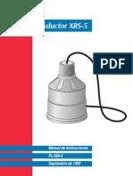 Transductor XRS-5_Manual de Instrucciones