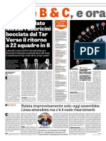 La Gazzetta Dello Sport 25-10-2018 - Il Caso