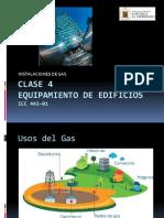 Clase Instalaciones de GAS