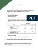 Rangkuman Kimia Analitik Terpadu (UTS Oktober 2018)