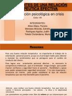 Crisis Ppt