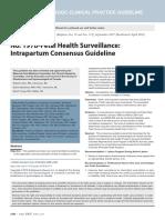 No. 197b-Fetal Health Surveillance