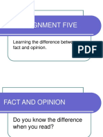 Fact and Opinion2