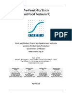 Restaurant Feasibility Report