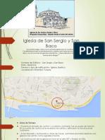 Analisis iglesia San Baco