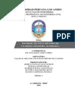 Métodos de Cuarteo-Informe 2