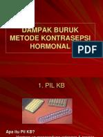 DAMPAK BURUK kb--Hormonal.ppt